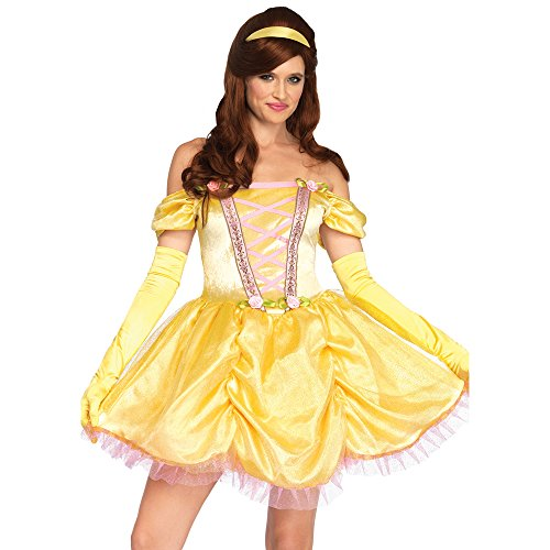 Leg Avenue Women's Costume, Yellow, Medium/Large