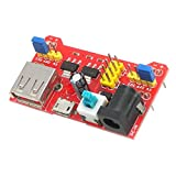 MakerSpot Breadboard Power Supply Board Module 3.3V/5V Dual Voltage For Arduino Board Solderless Breadboard Friendly'