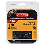 Oregon G78 AdvanceCut 20-Inch Chainsaw Chain, Fits Husqvarna, Mastercraft, Solo