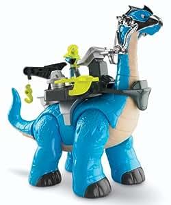 Fisher-Price - Brontosaurio de juguete, surtido (Mattel)