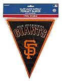 Major League Baseball Licensed San Francisco Giants Pennant Banner Party Decoration, Plastic , 12'