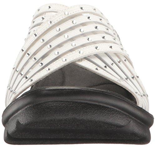 Skechers Cali Womens Promenade Easy Go Wedge Sandal White Gem