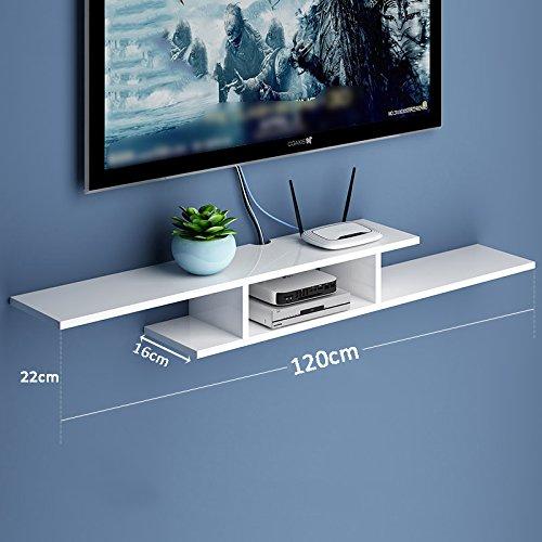 LIANGJUN 壁掛け棚 木製 リビングルーム 背景壁、 使用可能な9種類 ( 色 : 120cm-white-3# ) B07BHNBNND 22630 120cm-white-3# 120cmwhite3#
