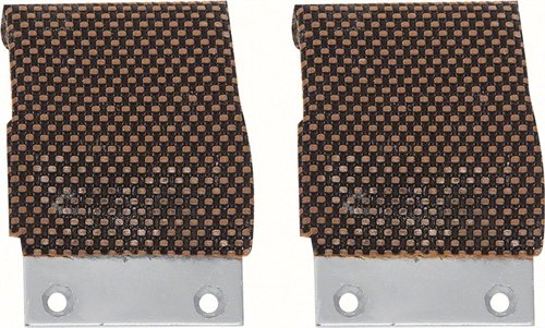OER K687 1968 Pontiac Firebird 1968-1969 Chevy Camaro Window Guide Plates (Pair)