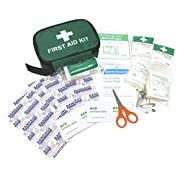 Clay Roberts First Aid Kit, Medical Kit Bag for Travel, Work, Holidays, Cars, and Camping