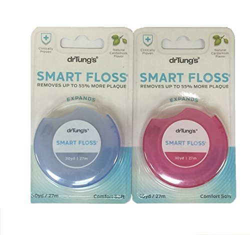 Smart Floss (Dr Tungs Smart Floss -- 30 Yards - 2pc Color May Vary)