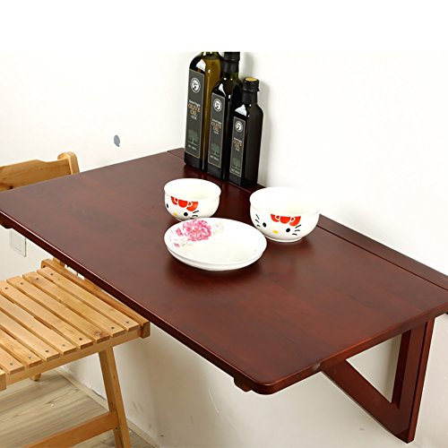 Table Murale En Bois Table Suspendue Murale Cuisine Pliante Table A