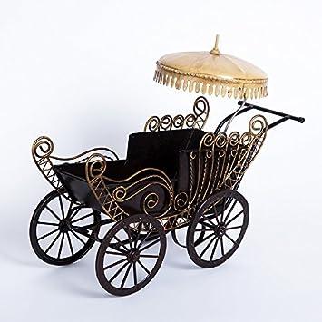 zyrd exquisita Vintage Estilo americano para cochecito de bebé pequeño creativo decoración del hogar delicado wrought-iron Craft: Amazon.es: Hogar