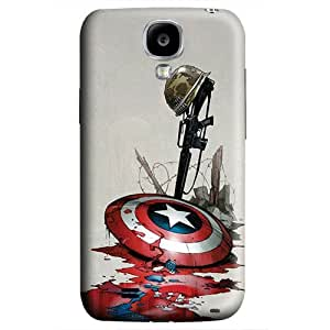 S4 case ,Samsung Galaxy S4 case ,fashion durable 3D design for Samsung Galaxy S4,PC material phone cover ,Designed Specially Pattern with Captain America Shield Art. by runtopwell