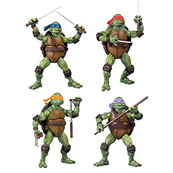 Amazon.com : TEENAGE MUTANT NINJA TURTLES CLASSIC RETRO 1990 ...