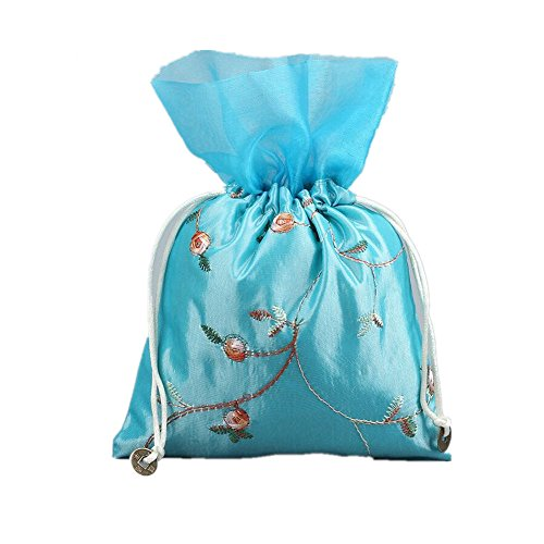 Lilith li Flower Yarn Small Bags of Silk Bags Kam Put the bags of jewelry 6 piece / set