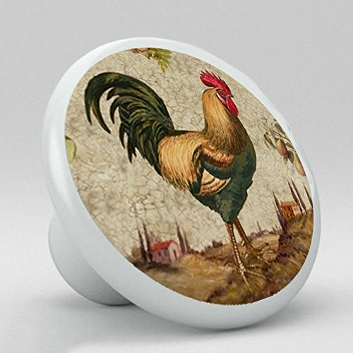 New Rooster Knobs for Kitchen Cabinets