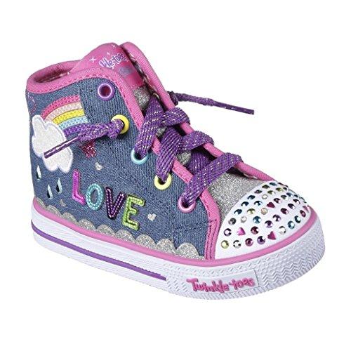 skechers twinkle toes high tops - 6