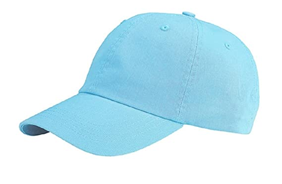mg tf baseball cap hat unisex low profile dyed cotton twill closure aqua midget caps