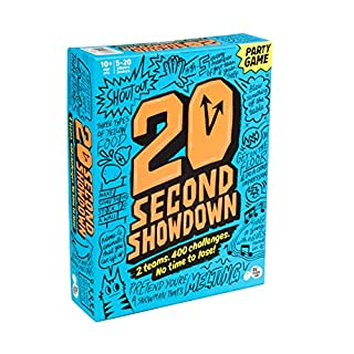 20 Second Showdown: A Crazy Quick-Fire Family Game for Kids and Adults
