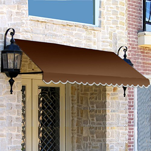 Awntech 6-Feet Dallas Retro Window/Entry Awning, 16-Inch Height by 30-Inch Diameter, - Shades Cheap