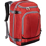 eBags TLS Mother Lode Weekender Convertible Carry-On Travel Backpack - Fits 19 Inch Laptop - (Sinful Red)