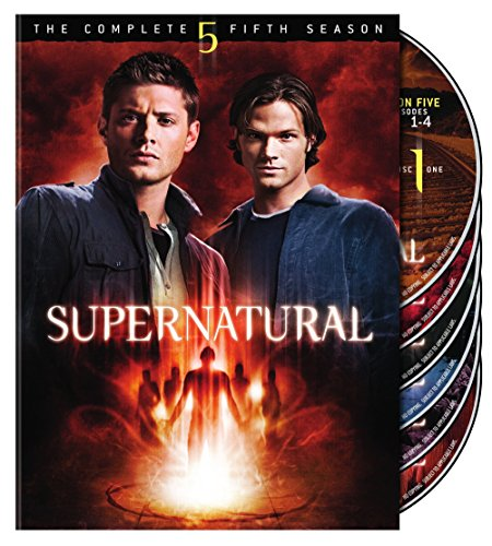 DVD : Supernatural: The Complete Fifth Season (, Dubbed, Dolby, AC-3, Widescreen)