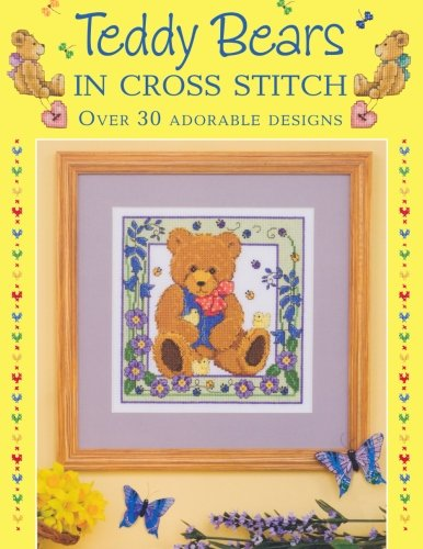 Teddy Bears In Cross Stitch Bear Cross Stitch Pattern