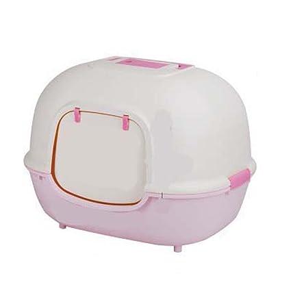DSHBB Caja de Arena para Gatos, Gatito Menos Bandeja de Arena Caja de inodoros,