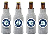 MLB Seattle Mariners Glitter Bottle Suit Koosie (Pack of 4)