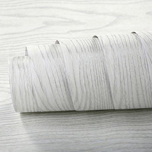 Faux Wood Grain Contact Paper Self Adhesive Vinyl Shelf