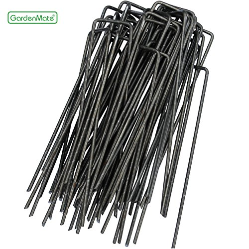 gardenmate-50-pack-6-11-gauge-heavy-duty-u-shaped-garden-securing-pegs-sod-staples-ideal-for-securin