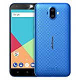 ulefone quad core - Hometom Cell Phones, 5.0' Unlocked Smartphone - Android 7.0-2GB RAM - Dual Camera&Sim Card, Ulefone S7 (Blue)