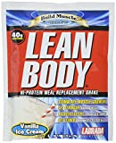 Labrada Nutrition Lean Body Hi-Protein Meal Replacement Shake, Soft Vanilla Ice Cream, 2.78 Ounce (Pack of 80)