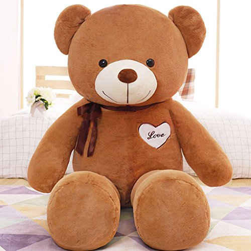 Yxcsell 2 Ft 24 Inches Brown Color Medium Teddy Bear Soft Plush Stuffed Animals Toys