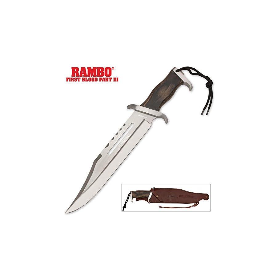 RB9297 BRK Rambo III Stallone Signature