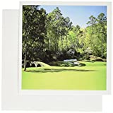 3dRose Photo Of Augusta Georgia Golf Course - Greeting Cards, 6 x 6 inches, set of 12 (gc_100504_2)