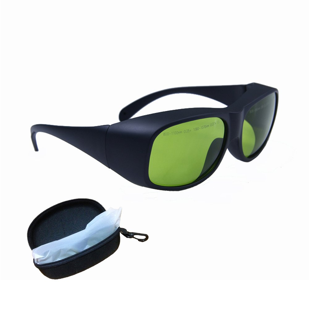 LP-LaserPair Laser Glasses 800 - 1100nm Absorption Type of Laser Protective Glasses Diode, Nd:yag Laser Protection Glasses Multi Wavelength 808nm, 980nm, 1064nm, Laser Safety Glasses by LP-LaserPair (Image #6)