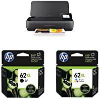 HP OfficeJet 250 All-in-One Mobile Printer with XL Ink Bundle