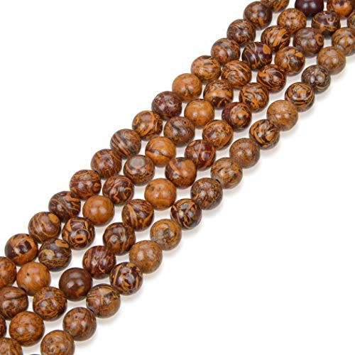 Top Quality Natural Golden Tiger Skin Jasper Gemstone 10mm Round Loose Gems Stone Beads 15 Inch for Jewelry Craft Making GF27-10