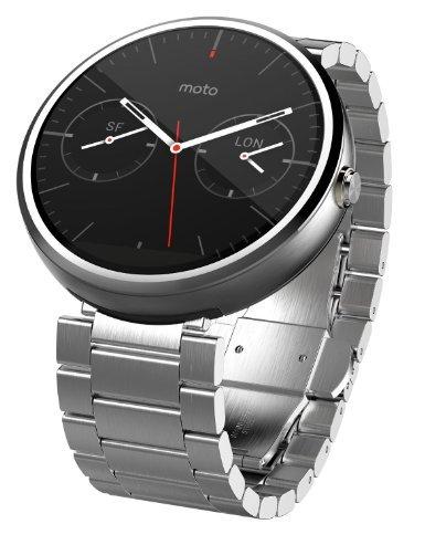 Motorola Moto 360 Smart Watch - Light Metal (Certified Refurbished)
