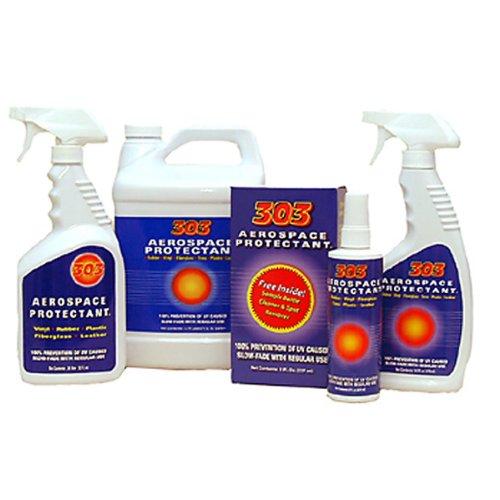 303 (30302) UV Protectant Spray for Vinyl, Plastic, Rubber, Fiberglass, Leather & More