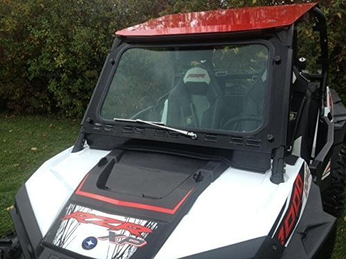 Polaris Rzr XP1000 Laminated Safety Glass Windshield with Wiper by EMP 12383