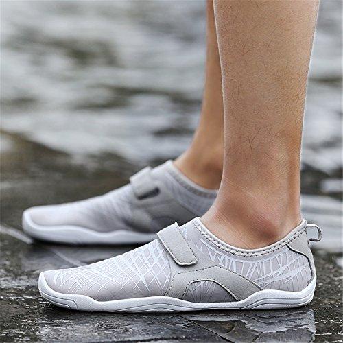 Haut Grau Schuhe C Schwarz Schwimmen Rosa Weichpaste Sandalen Sportschuhe Tauchen barfuss Schuhe Strand XUE Blau Waten Schuhe 4PWz11Zq