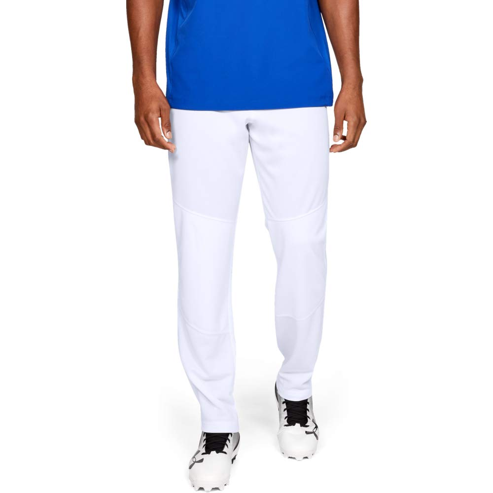Under Armour Men's IL Utility Relaxed Pants, White, Small by Under Armour