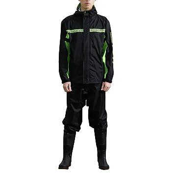 Ynport Crefreak Chaqueta Impermeable para Hombre o Mujer con Capucha, diseño camuflado de