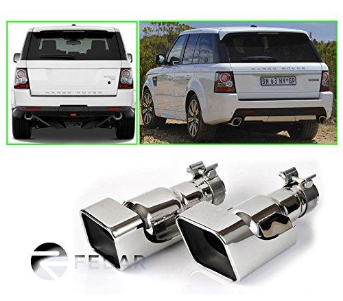 Fedar Stainless Steel Exhaust Pipe/Tip for 2010-2013 Land Rover Range Rover Sport gasoline (Range Muffler Rover)