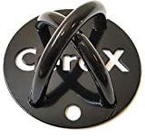 CoreX CoreMount. Bodyweight and Resistance Training Wall Mount. Fitness Anchor. (Black)