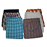 New Men's Plaid Cotton Pajama Bottoms Sleepwear 3-Pack (Large - 3 Pack)