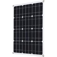 Galapara Módulo de Panel Solar monocristalino de enjoysolar, DC5V / DC18V 40W Salida Dual El Panel de Carga Solar del…