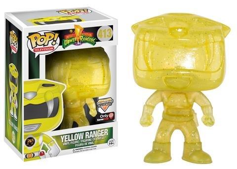 POP! Power Rangers – Yellow Ranger (Morphing Exclusive) – Only at GameStop
