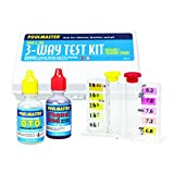Poolmaster 22240 3-Way Test Kit with Case - Basic Collection