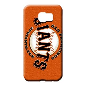 samsung galaxy s6 edge Excellent Fitted PC pictures phone carrying skins san francisco giants mlb baseball