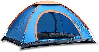 SZH&ZPT Tente de camping en plein air simple couche rapide pour ouvrir et anti-pluie respirant pour 2 personnes