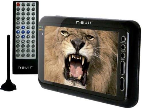 Nevir NVR-7012TTCU - Televisor portátil, con pantalla LCD de 7 ...